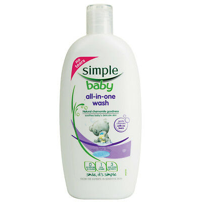 Simple Baby All-in-one Wash No Tears Formula 300ml