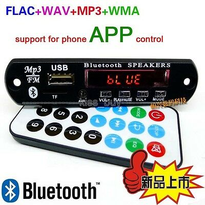 Digital Bluetooth 4.0 Audio Receiver APE FLAC WAV WMA MP3 Decoder Board FM Radio