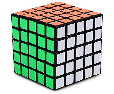 Shengshou 5x5x5 Magic Speed Cube Stickerless Puzzle Twist Toy Gift Juguetes