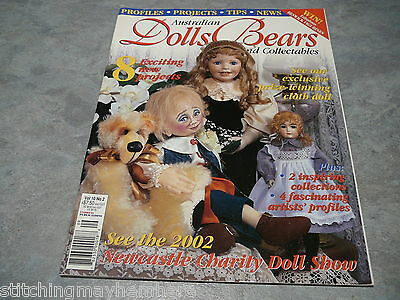 Australian Dolls, Bears and Collectables Vol. 10 No. 2 great clothes to make