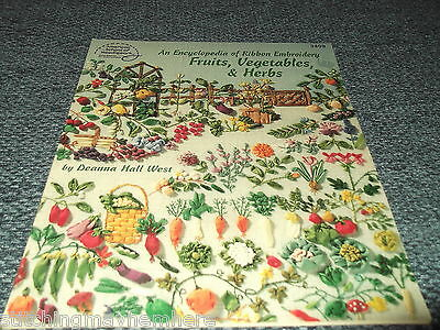 Fruits, Vegetables & Herbs by American School of Embroidery - Book 3409