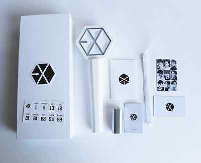 Kpop EXO White Concert Light Stick Sehun Chanyeol DO Glow Light stick Lamp