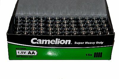 60x Camelion Super Heavy Duty R6P AA 1.5 V Batteries ( Pack of 60 )
