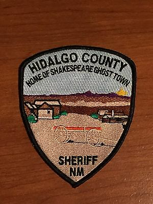 Defunct Hidalgo County New Mexico Sheriff's Department Old Style Police Patch
