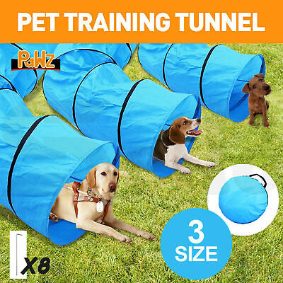 PawZ Outdoor Waterproof Pet Dog Agility Training Exercise Long Tunnel 3 Sizes