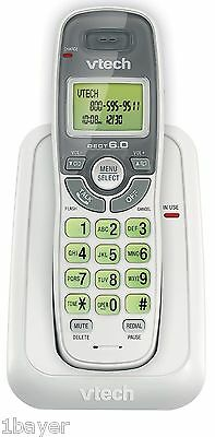 Vtech Dect 6.0 Single Handset Cordless Phone with Caller ID Green Backlit Keypad