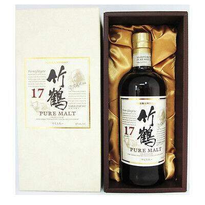 Nikka Taketsuru 17 Year Old Japanese Blended Malt Whisky 700mL