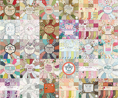 Dovecraft First Edition scrapbooking papier 6x6, volle packung oder quarter