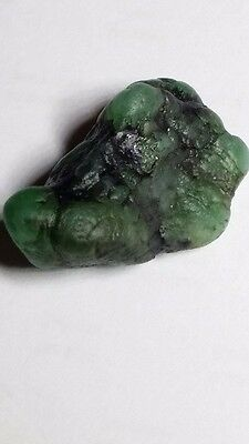 Natural Emerald Rough from India 6.1 ct