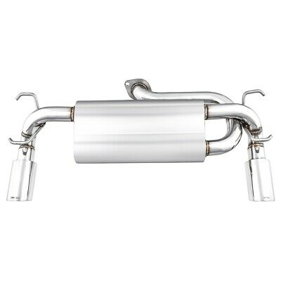 Mazda MX5 Mk3 Exhaust Silencer Cobalt Dual exit Stainless Steel 2005-15