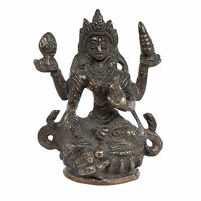 Nepal 19. Jh. Figur  - A Nepalese Bronze Figure of Vaasudhara - Népalais 19thc