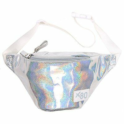 Silver Iridescent Fanny Pack