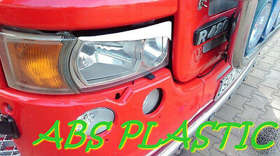 SCANIA R SCANIA G EYEBROWS ABS PLASTIC NEW TUNING White ( XENON / H-4)