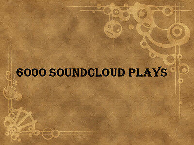 6000 Soundcloud Plays to your Soundcloud Track within 24 hours