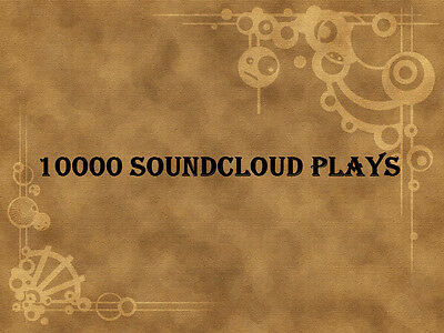 10000 Soundcloud Plays to your Soundcloud Track within 24 hours
