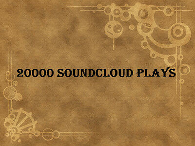 20000 Soundcloud Plays to your Soundcloud Track within 24 hours