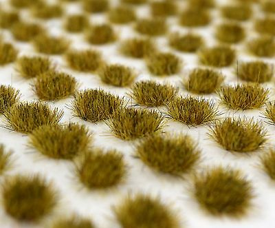 WWS 100 4MM Patchy SELF ADHESIVE STATIC GRASS TUFTS - WARGAMES / BATTLE BOARDS