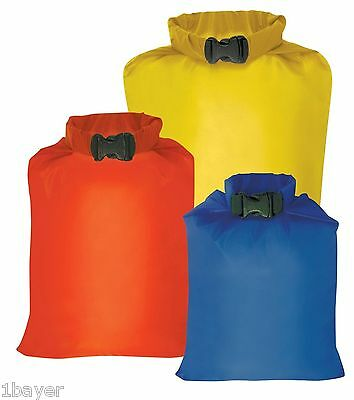 Outdoor Products Water Sport Boating Sailing Fishing Kayaking Dry Bag Sack 3pc