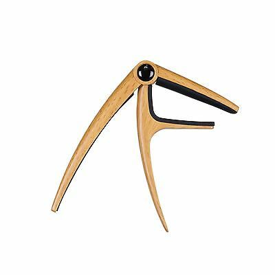 New Martinez Professional Capo for Acoustic Guitars (Maple)