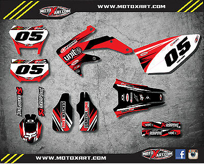 GRAPHICS KIT FITS Honda CRF450X 2004 / 2018 DIGGER style stickers/decals
