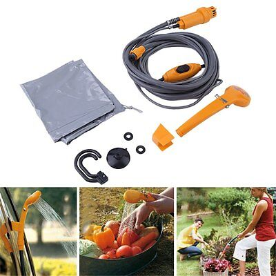 New Car Portable Camping Festival Hiking Travel Pet Shower Pump#C