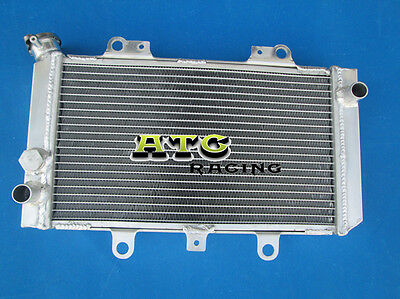 For YAMAHA ATV QUAD GRIZZLY 660 YFM660F YFM66F 4x4 2002-2008 Aluminum Radiator