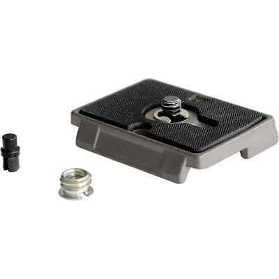 Manfrotto 200pl Quick Release Plate With 1/4 Inch Screw And 3/8 Inch B