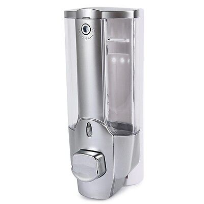 350ml NEW Wall Mount Soap Sanitizer Bathroom Shower Shampoo Dispenser Home AAU