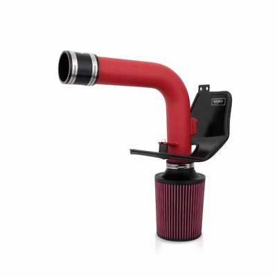 Mishimoto Performance Cold Air Intake, Wrinkle Red - WRX/STi 08-14 (MMAI-STI-08W