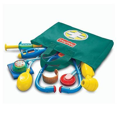 Fisher Price Medical Kit In Carry Bag Kids Role Play Doctor & Nurses