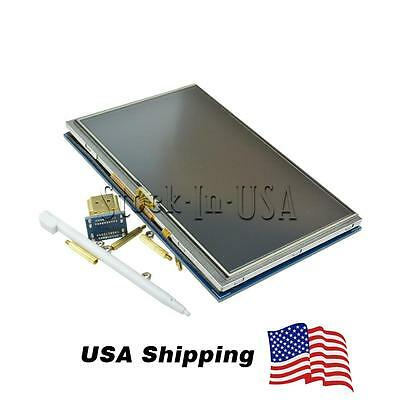 """US Shipping 5"""" Inch 800x480 HDMI Touch LCD Screen Display for Raspberry Pi B+ A+"""