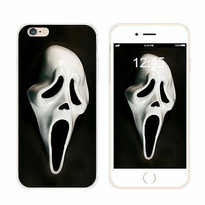 Halloween Pattern Case Soft Silicone TPU Bumper Cover for iPhone Samsung Huawei