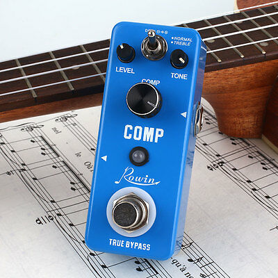 Portable Full Metal Compressor Compression Effect Pedal with True Bypass