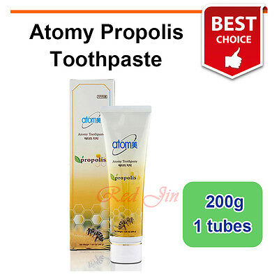 Atomy Propolis Green Tea Whitening Toothpaste Korean Oral Care 200g X 1 tubes