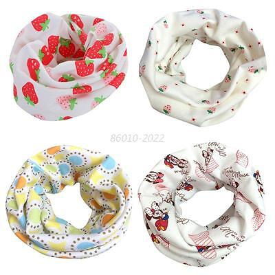 Baby Boy Girls Snood Scarf Gifts Kids Toddlers Winter Warmer Neck Scarves Scarf