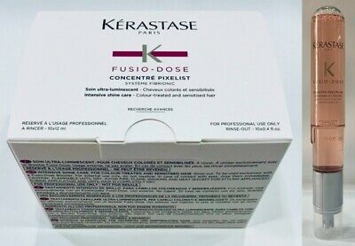 Concentre Pixelist 10 X 12ML + Booster Discipline 120ML Kerastase