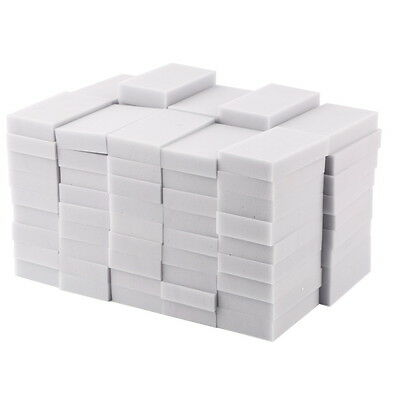 100PCS Magic Sponge Eraser Cleaning Melamine Multi-functional Foam Cleaner GK
