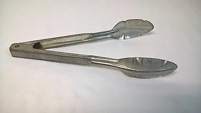 Vintage Aluminum Kitchen Tongs W R Feemster Co. Brooklyn Mich.