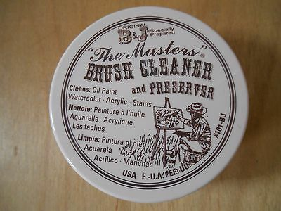 The Masters Brush Cleaner & Preserver 2.5 oz. / (75g) pot