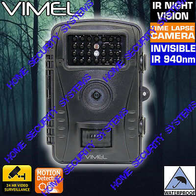 Trail  Camera Security Hunting Farm Wildlife Scout Night Vision No Spy Hidden