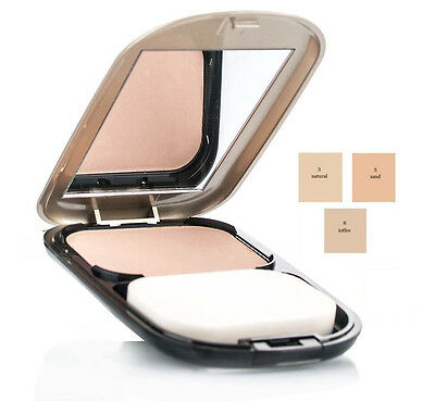 Max Factor Facefinity Compact Make-up Various Colours SPF 15 by Ellen Betrix