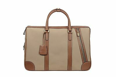 Authentic GUCCI Vintage Beige Canvas TRAVEL CARRY ON BAG Weekender