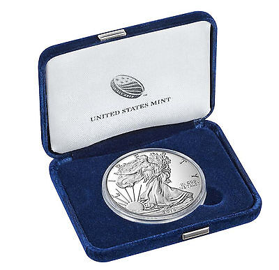1 oz American Eagle 2016 Proof Coin 999 One troy ounce of .999 fine silver