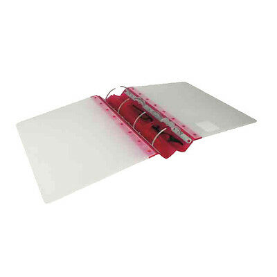 Guildhall Glx Ergogrip Frosted Ring Binder / 2 Pack / Raspberry /4545