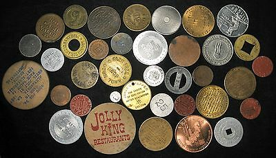 Lot of 51: Miscellaneous Tokens, Medals, etc