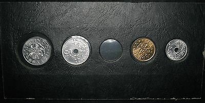 Lot of 4: Indonesia UNC Coins