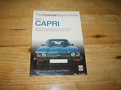 Sale Book-The Essential Buyers Guide Ford Capri. Was £9.99. Shrinkwrapped