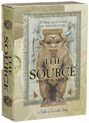 The Source 7.1 Million Scoville Hot Sauce - One of the world's hottest sauces