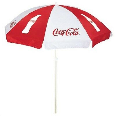Coca Cola Coke Beach Umbrella New!