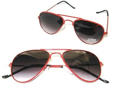 Baby Toddler Boys Girls Red Aviator Costume Sunglasses Ages 0 - 3 Years